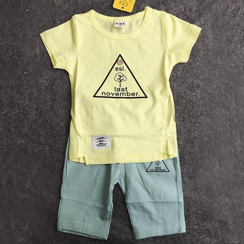 T-SHIRT AND PANT FOR BOYS (FULL SET)