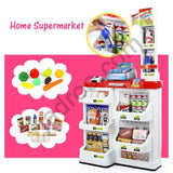 Toys for Boys and Girls, Home Supermarket for Kids, Shopping Playset with Trolly, Full Shopping Toyset