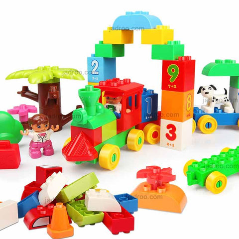 Blocks for Boys and Girls, Little funny blocks train,toy