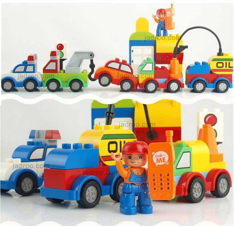 Blocks for Boys and Girls, Varied Bricks of the car,toy