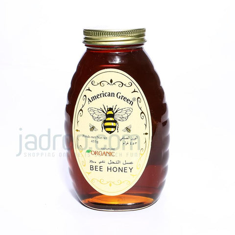 A/green Pure Organic Honey 453gm