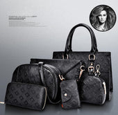 Lady Bags, Lady Bag set, Fashion Lady Bags 6pcs Women Handbags Set