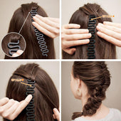 1 PCS Vintage Hair Styling Tools,Fashion Magic Easy Braid,1PCS