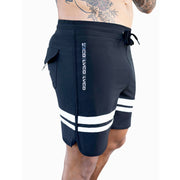 Premium Black Lifestyle Shorts