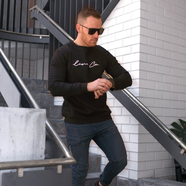 Black Live Co Male Crew Neck
