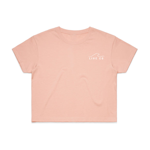 Flush Pink Crop Top