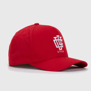 Blood Red LVCO A-Frame Snapback