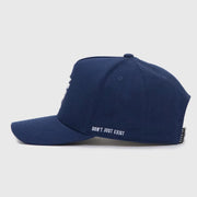 Royal Blue  A-Frame LVCO Snapback