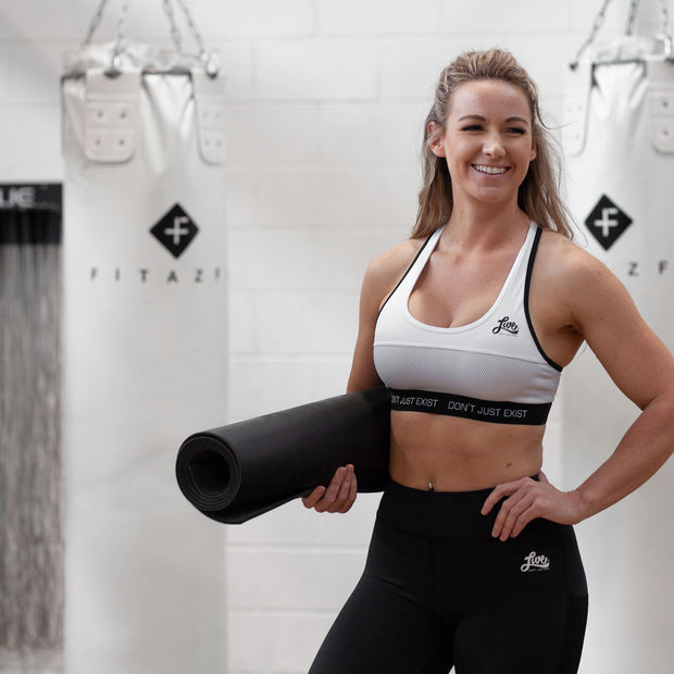 Black Active Sports Bra