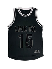 Black Lifestyle Basketball singlet