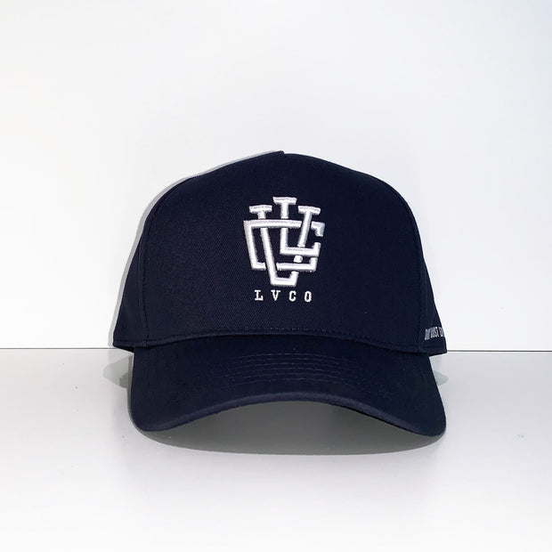Midnight Blue A-Frame LVCO Snapback