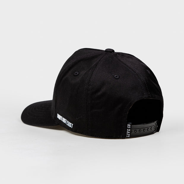 Black Signature Series A-Frame Snapback