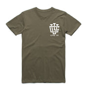 Khaki Green LVCO T-Shirt