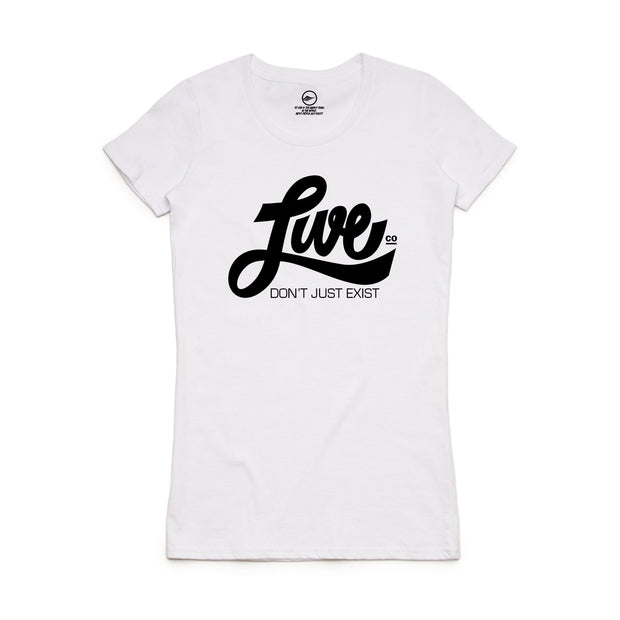 White LiveCo. T-Shirt
