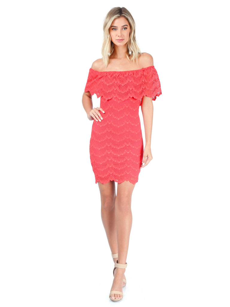 Women wearing a dress rental from Nightcap Clothing called Bachelorette Mini Dress