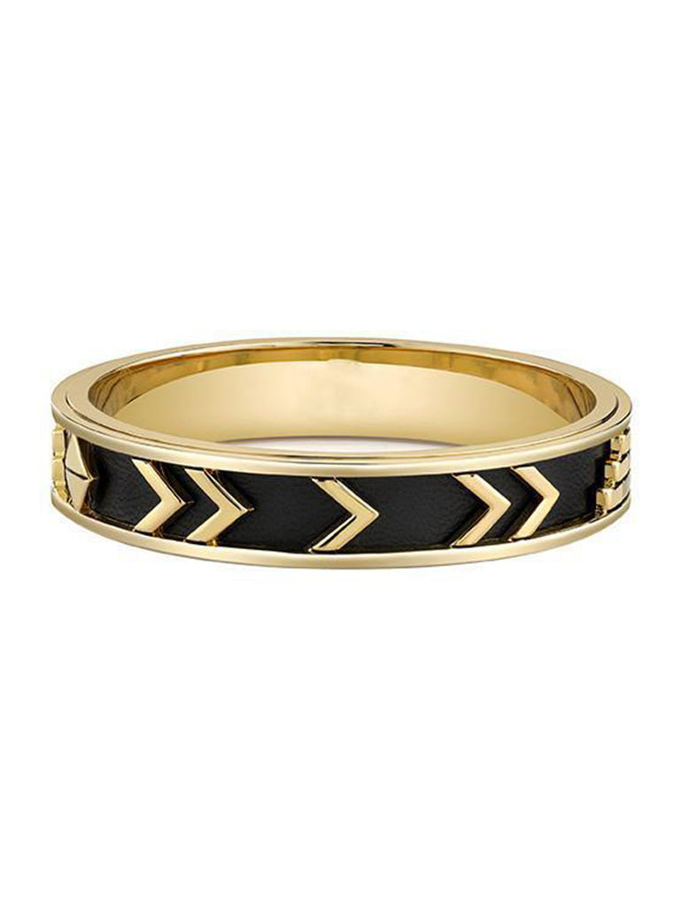 Women wearing a bracelet rental from House of Harlow 1960 called Aztec Bangle