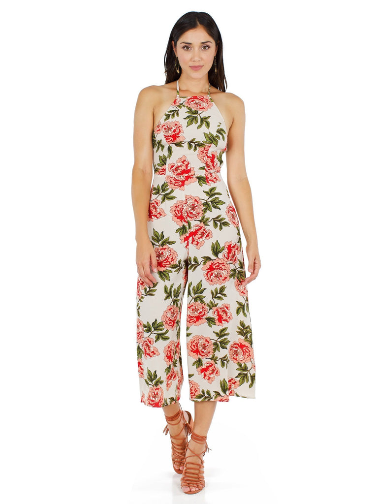 Girl outfit in a jumpsuit rental from Show Me Your Mumu called Hacienda Maxi Dress