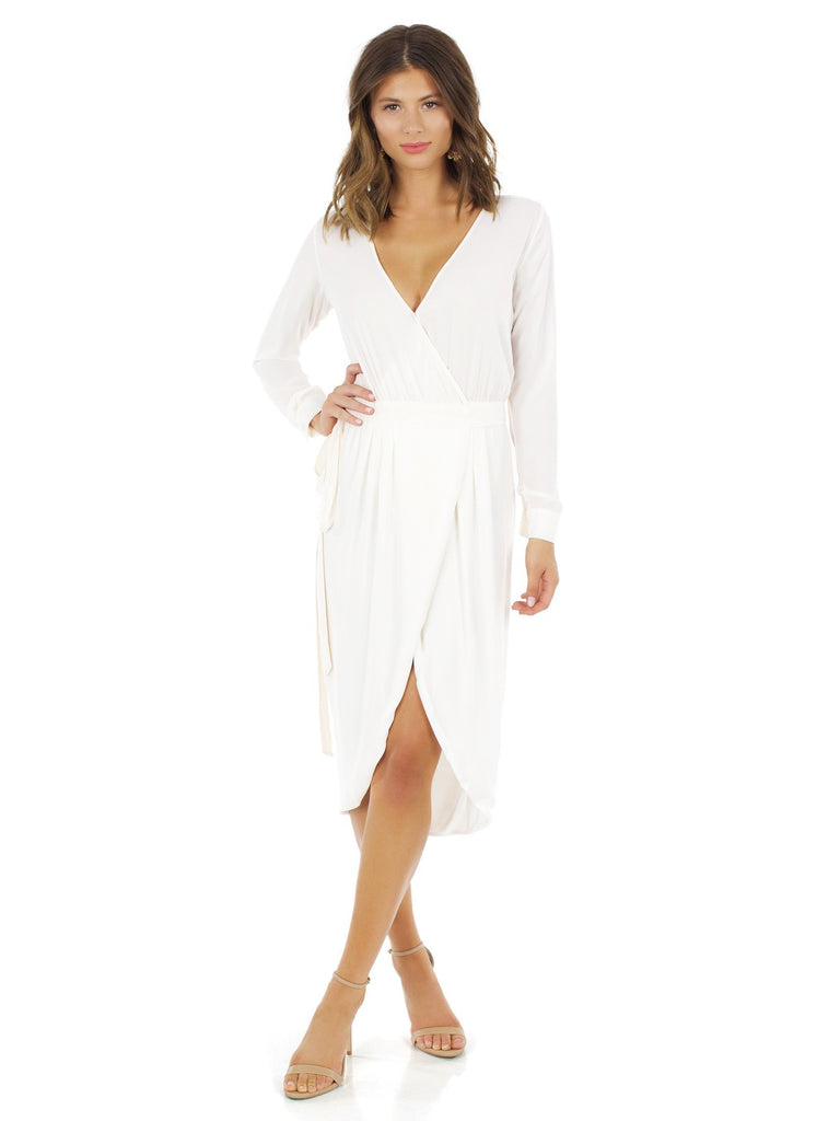 Women outfit in a dress rental from YUMI KIM called Velvet Saskia Maxi Dress