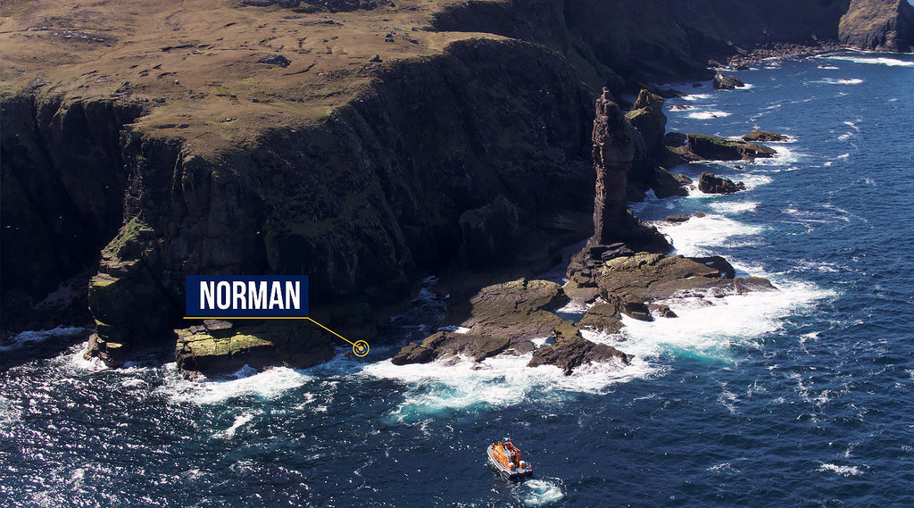 RNLI Charity Swim Old Man Of Stoer
