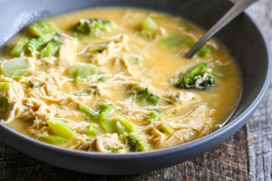 Spicy Chicken Broccoli Soup