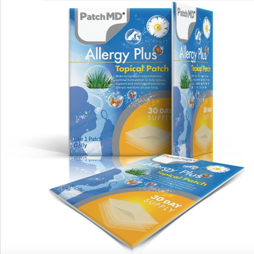 PatchMD - Allergy Plus(30 Day Supply) - Vitamins & Supplements