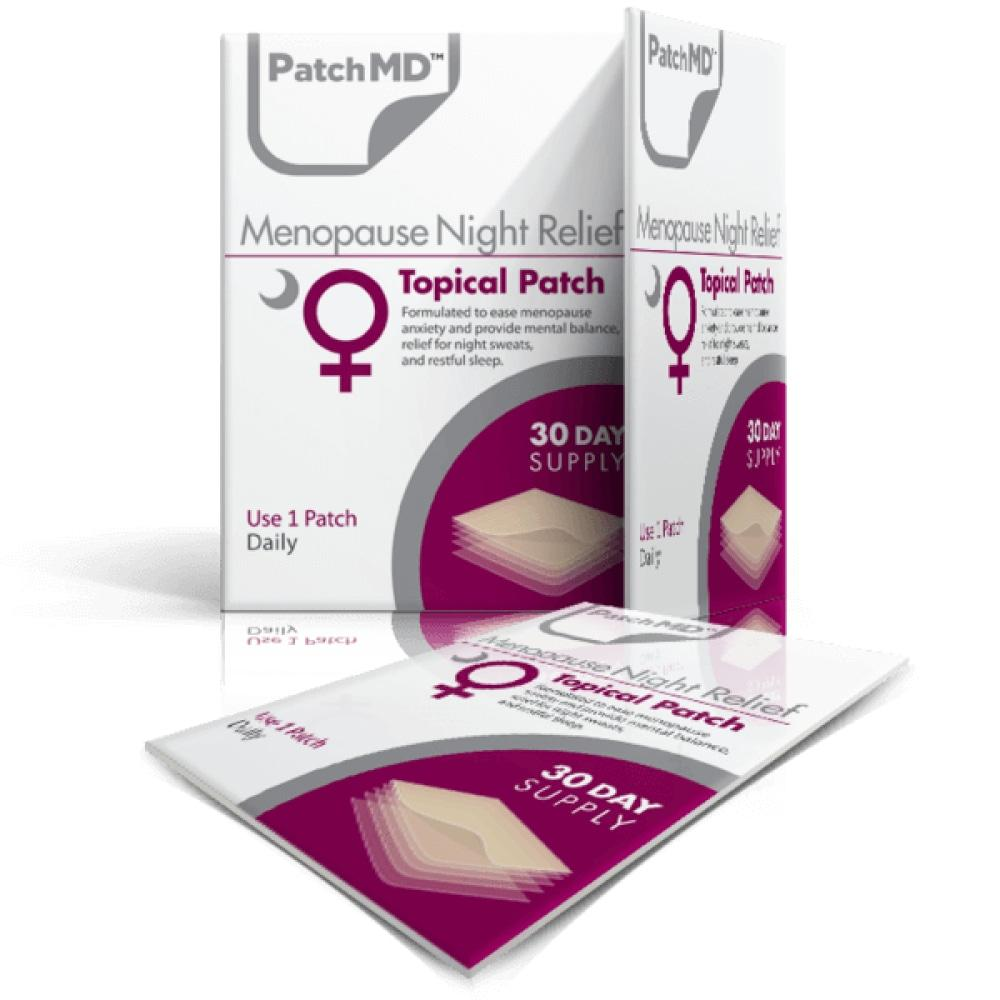 PatchMD - Menopause Night Relief Patch (30-Day Supply) - Vitamins & Supplements
