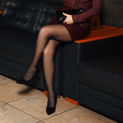 5 Ways to Wear Black Pantyhose for a Dressy Evening Look