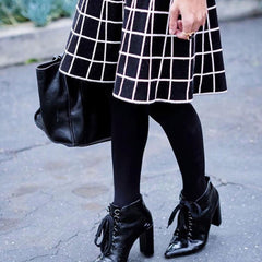 patterns cute outfits with black tights