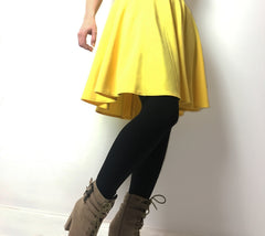 yellow dress with black tights cute outfits with black tights