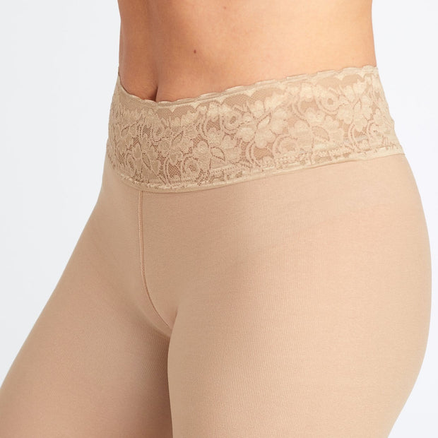 Nude Opaque Tights With Comfortable Low Rise Luxe Waistband 1