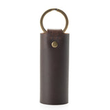 Snap Wrap Antique Brass Key Fob