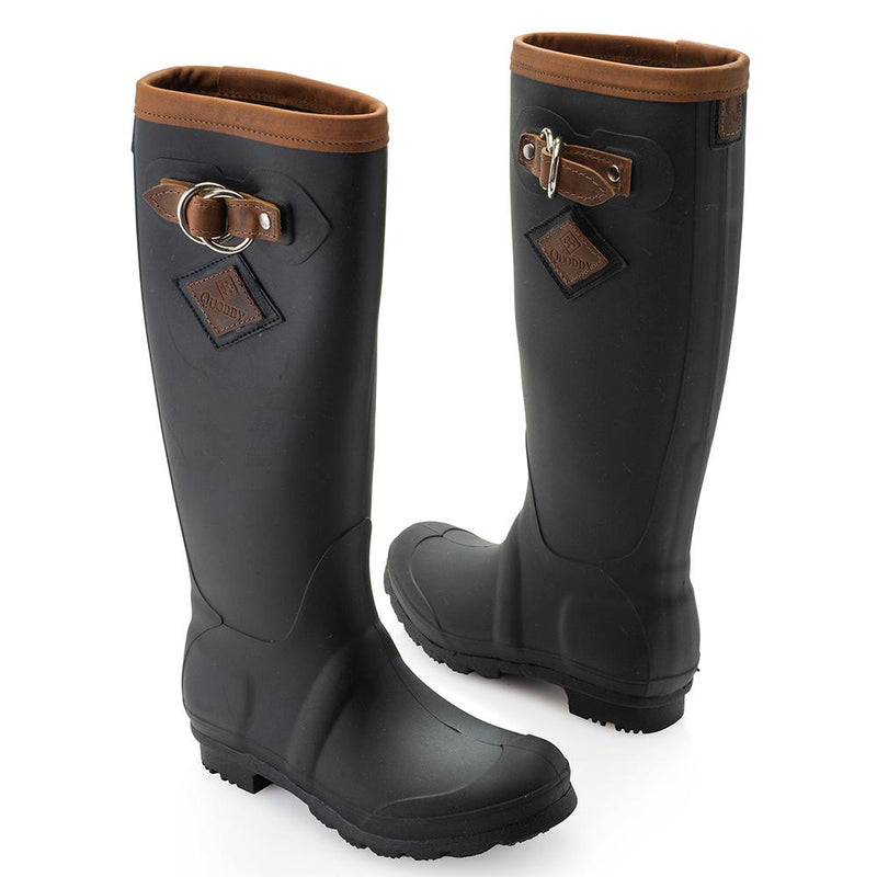 Hightide Rain Boots Black Women's