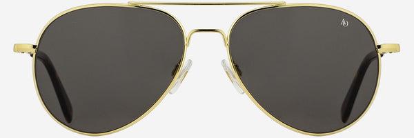 AMERICAN OPTICAL ORIGINAL GENERAL GOLD POLARIZED SUNGLASSES 55
