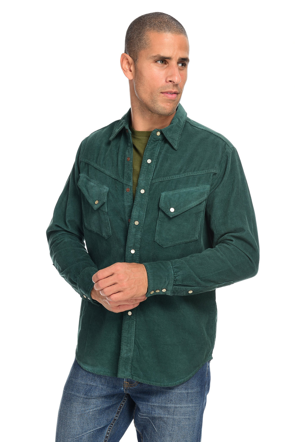 Corduroy Shirt Men's