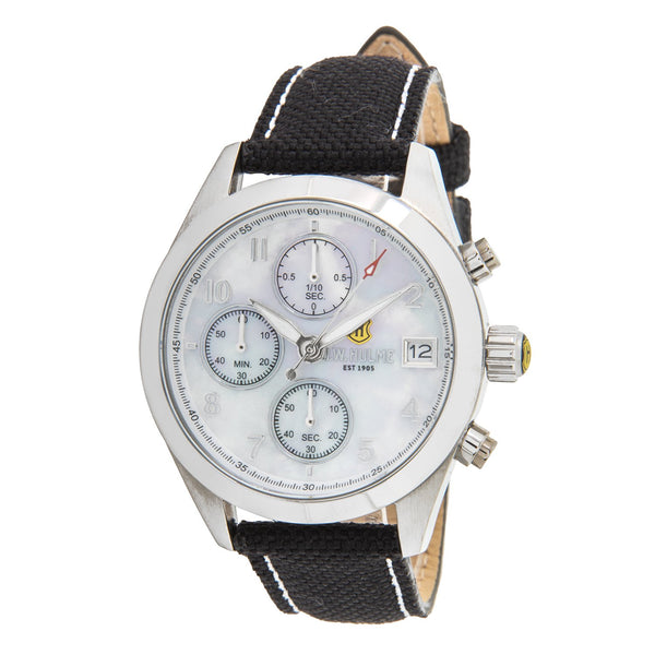 36mm Quartz Chronograph Nylon Strap Watch