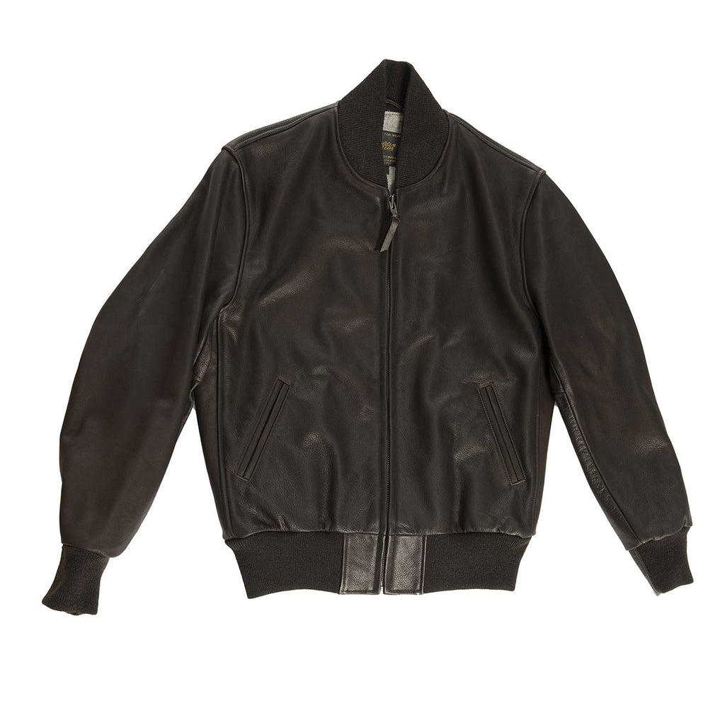 Leather Ashbury Baseball Jacket