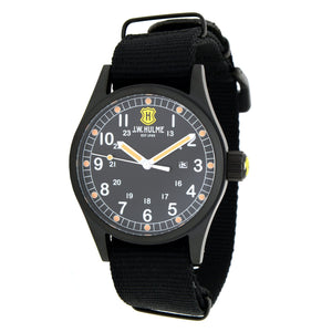 42mm Quartz Date Nylon Strap Watch