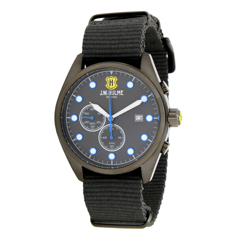43mm Quartz Chronograph Nylon Strap Watch
