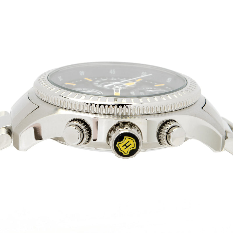 38mm Quartz Chronograph Mother-of-Pearl Bracelet Watch