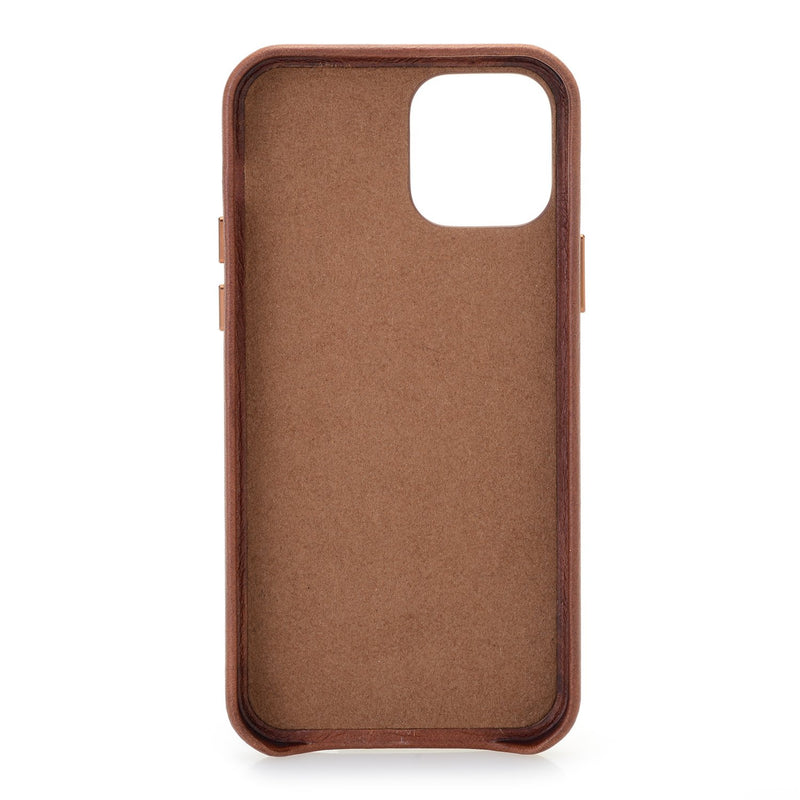 iPhone Leather Back Cover Case
