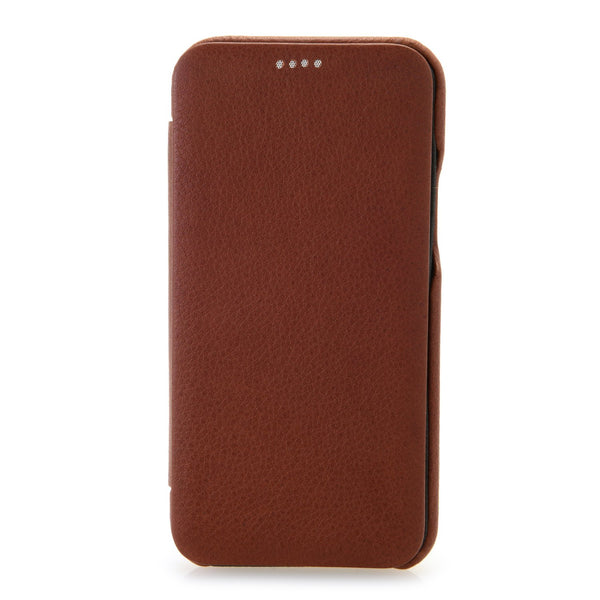 iPhone Leather Curved Edge Folio Case