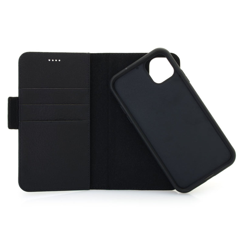 iPhone Leather Detachable 2 in 1 Wallet Phone Case with RFID