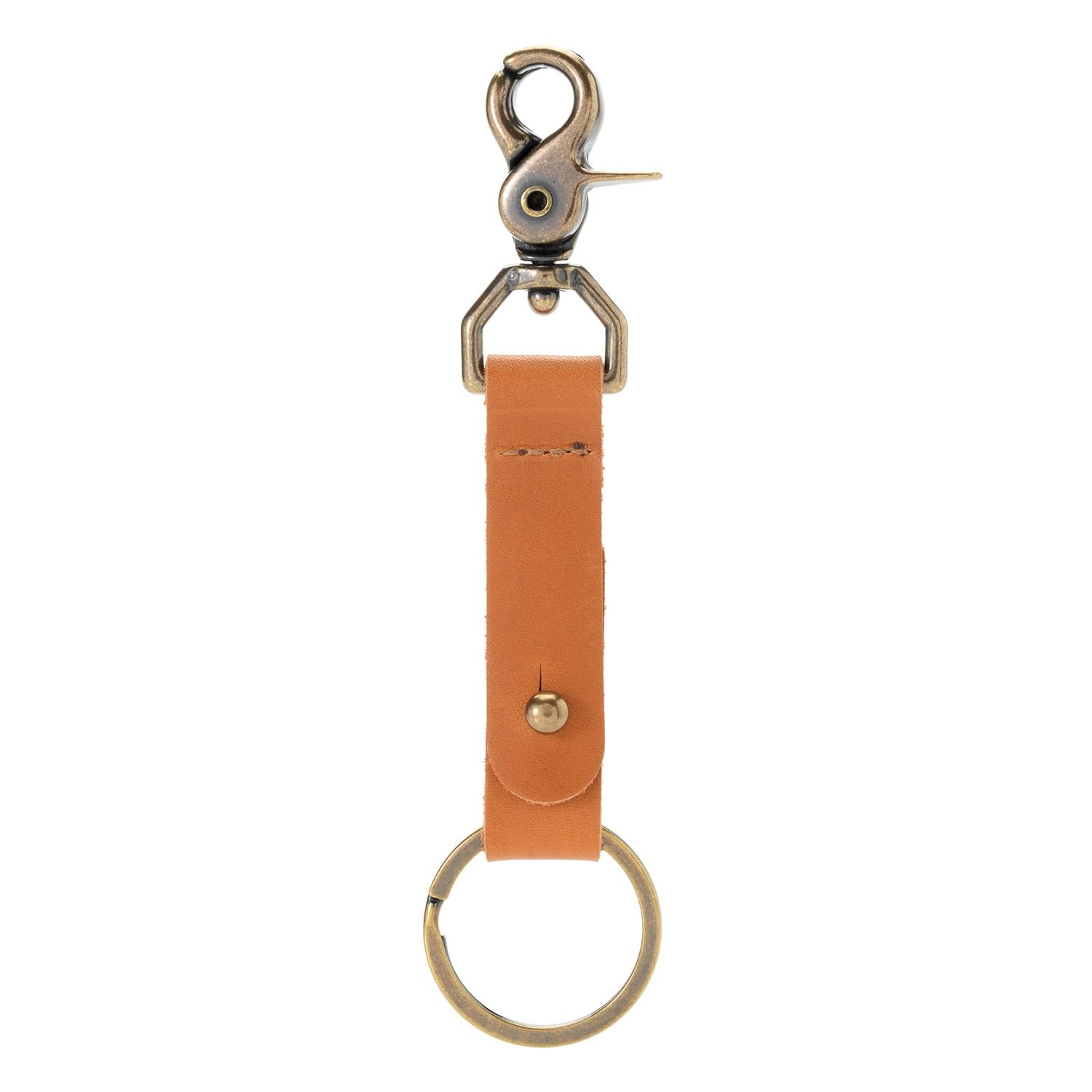 Trigger Snap Collar Button Key Fob