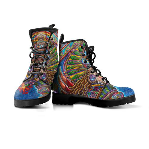 Inner Art World Colorful Boots by Visionary Artists