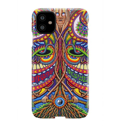 Inner Art World Colorful Phone Cases by Visionary Artists