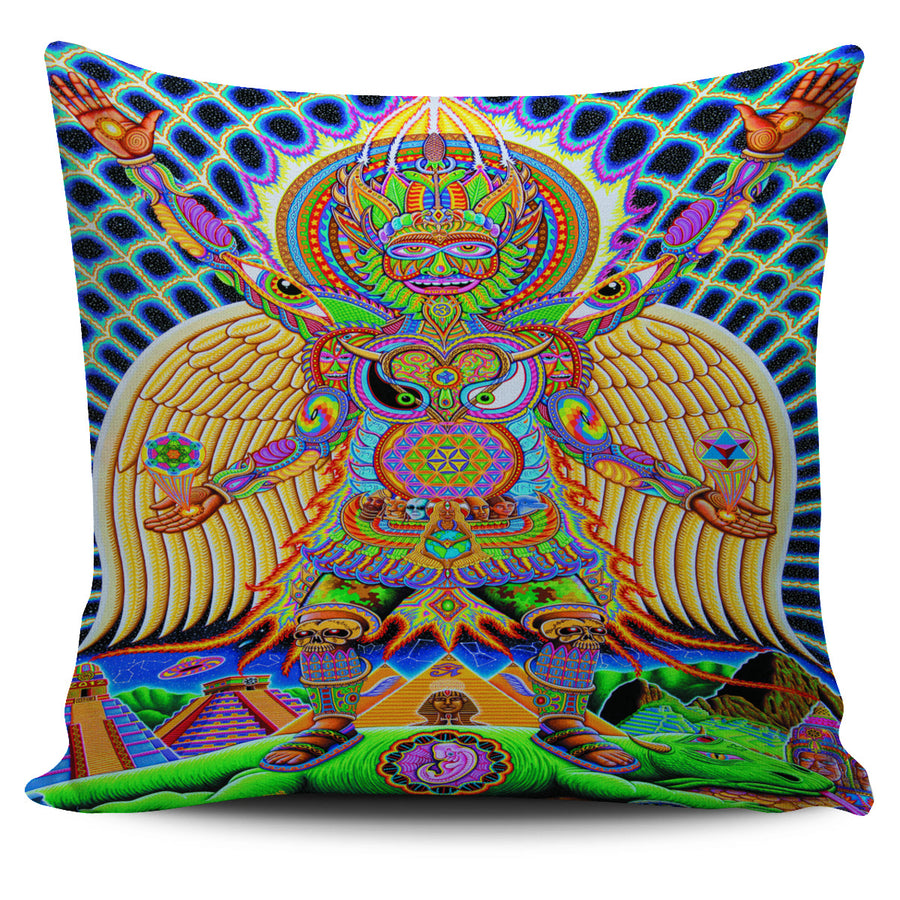 Neo Human Evolution Pillow Cover