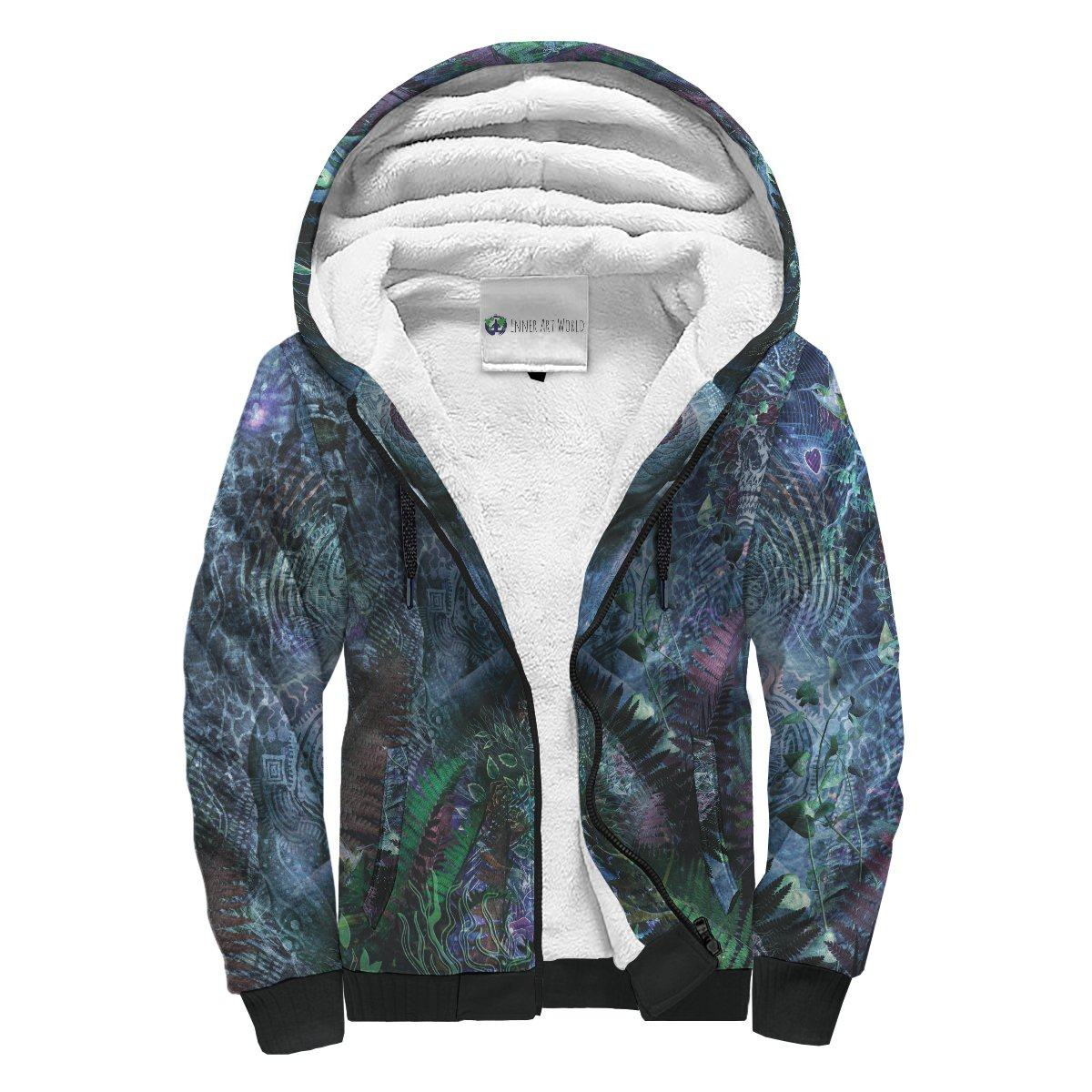 Gratitude For the Earth And Sky Sherpa Hoodie