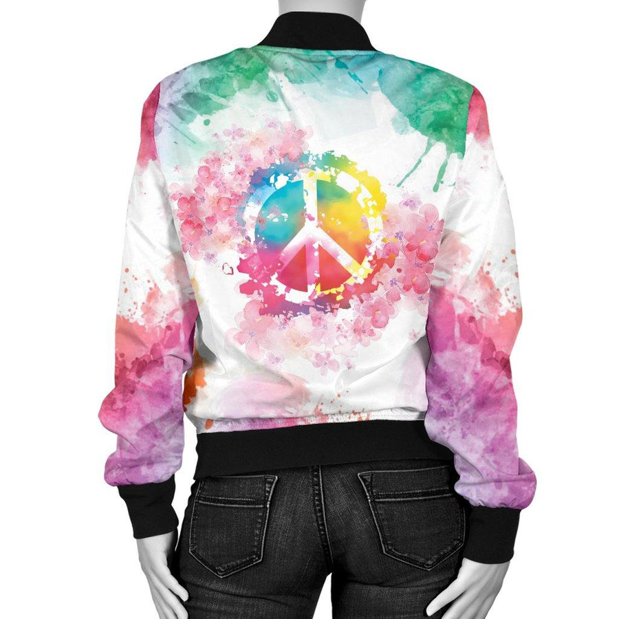 Peace & Love Bomber Jacket
