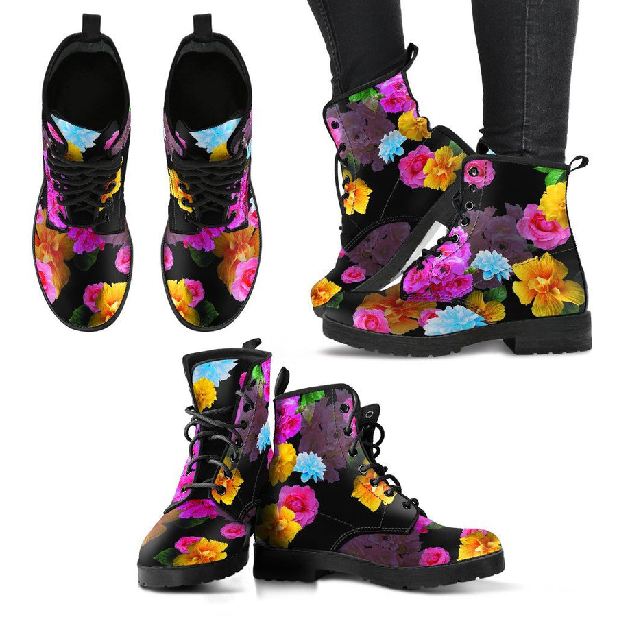 Boots - Flower Boots