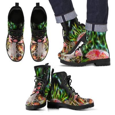 Boots - Fractal Mushrooms Boots